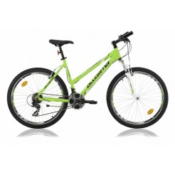 All Carter Florida Lady 26 inch mountainbike Green/White Shimano STI 21SP