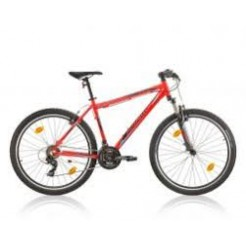 All Carter Spencer 27.5 inch mountainbike Red Shimano Tourney STI 21 Speed