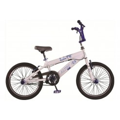 Altec Blue Power 20 inch BMX fiets Wit