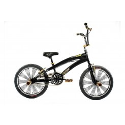 Altec Dark Power 20 inch BMX fiets Zwart