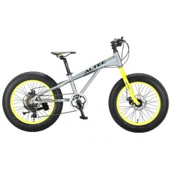 Altec FAT Bike Allround 20 inch 2D jongensfiets Grijs Groen