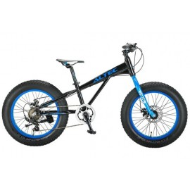 Altec FAT Bike Allround 20 inch 2D jongensfiets Zwart Blauw