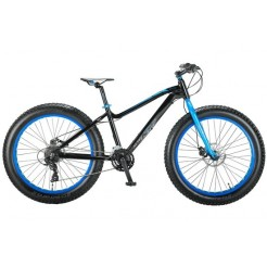 Altec FAT Bike Allround 26 inch 2D jongensfiets Zwart Blauw