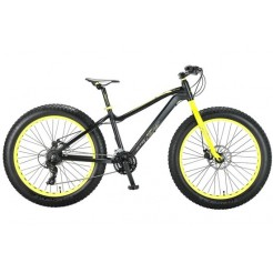 Altec FAT Bike Allround 26 inch 2D jongensfiets Zwart Groen