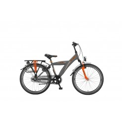 Altec Hero 24 inch jongensfiets Dark Orange Remnaaf