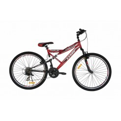 Altec Red Hawk 26 inch MTB Rood/Zwart