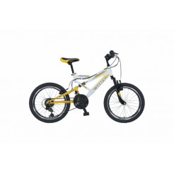 Altec Red Hawk 26 inch MTB Wit/Geel