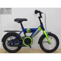 Bike Fun Airforce 12 inch jongensfiets Blauw/Groen