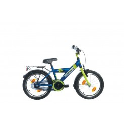 Bike Fun Airforce 18 inch jongensfiets Blauw/Groen