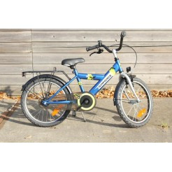 Bike Fun Airforce H 16 inch jongensfiets Blauw/Groen