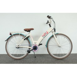 Bike Fun Candy Shop 24 inch meisjesfiets Creme Nexus 3