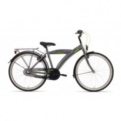 Bike Fun City Urban (26UJ55) 26 inch jongensfiets HCB3 titanium