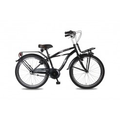 Bike Fun Crazy Cruiser 24 inch jongensfiets Nexus 3 Zwart