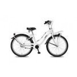 Bike Fun Crazy Cruiser 24 inch meisjesfiets N3 White Black