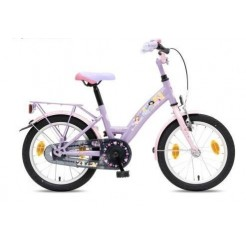 Bike Fun Disney Princess 18 inch meisjesfiets Roze/Lichtblauw
