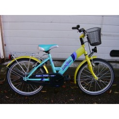 Bike Fun Fun 4 You 20 inch meisjesfiets Turquoise 34 cm