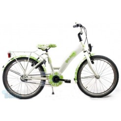 Bike Fun Girls Fun 20 inch meisjesfiets Wit/Groen