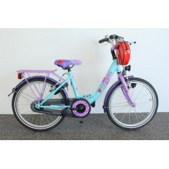 Bike Fun Girls Fun 24 inch meisjesfiets Turquoise/Paars