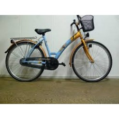 Bike Fun Girls Fun 26 inch meisjesfiets Blauw/Oranje