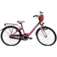 Bike Fun Girls Fun 26 inch meisjesfiets Fuchsia Roze