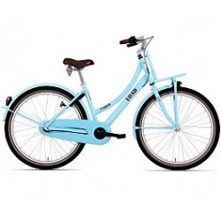 Bike Fun Load 24 inch transportfiets Nexus 3 Light Blue