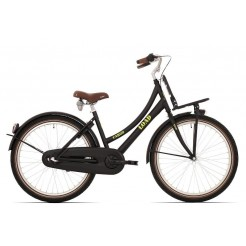 Bike Fun Load 24 inch transportfiets Nexus 3 Matzwart
