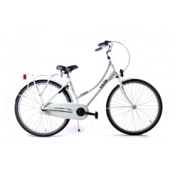 Bike Fun Load Cargo D 24 inch meisjesfiets Mat Wit Nexus 3