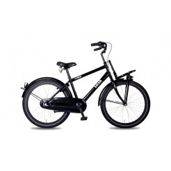 Bike Fun Load 26 inch jongensfiets Black Shimano Nexus 3 remnaaf