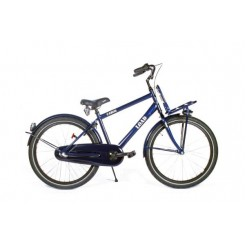 Bike Fun Load 26 inch jongensfiets Dark Blue Shimano Nexus 3 remnaaf