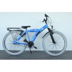 Bike Fun Sound 24 inch jongensfiets 3SP CB Blue