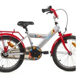 Bike Fun Space 18 inch jongensfiets Rood