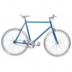 Birota Hammer 28 inch fixed gear fiets Blue