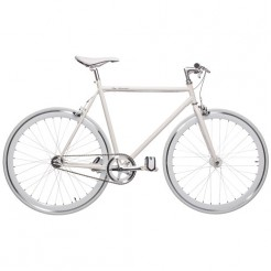 Birota Hammer 28 inch fixed gear fiets White
