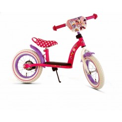 Cars Frozen 12 inch metalen loopfiets met luchtbanden Mint Blue