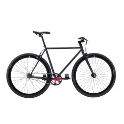 Cheetah 3.0 fixed gear fiets Black/Cherry Red 59cm