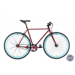 Cheetah 3.0 fixed gear fiets Cherry Red 59cm