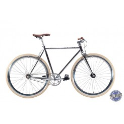 Cheetah 3.0 fixed gear fiets Chrome 54cm