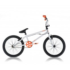 Diamondback Option 20 inch BMX fiets White/Oranje
