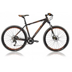 Lombardo Sestriere 300 27.5 17 inch mountainbike Black Orange