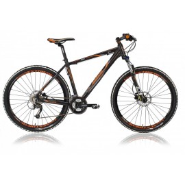 Lombardo Sestriere 300 27.5 23 inch mountainbike Black Orange