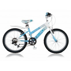 Magic Aurora 20 inch meisjesfiets Blauw/Wit Shimano 6SP
