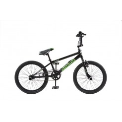 Magic Jumper 20 inch BMX fiets Zwart 48 spaaks
