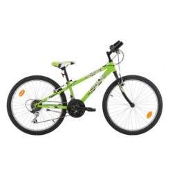 Marlin Emile 24 inch mountainbike Green Black 18SP