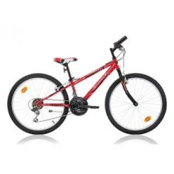 Marlin Emile 24 inch mountainbike Red Black 18SP
