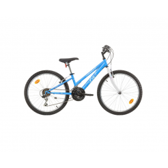 Marlin Eva 24 inch mountainbike 28cm Blue Shimano 18SP