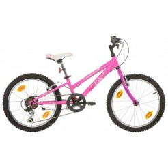 Marlin Eva 24 inch mountainbike Roze Shimano 18SP