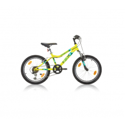 Marlin Puzzle 24 inch mountainbike Yellow Black 18SP