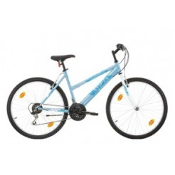 Marlin Sofia 26 inch mountainbike White Blue 18SP