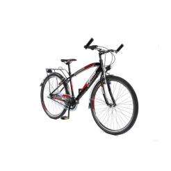 Mistral Maxx 20 inch jongensfiets Black/Red Shimano 6 Speed