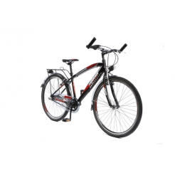 Mistral Maxx 22 inch jongensfiets Black/Red Shimano 6 Speed